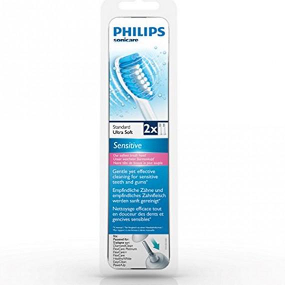 Recambio para Cepillo de Dientes Eléctrico Philips HX6052 (2 pcs)