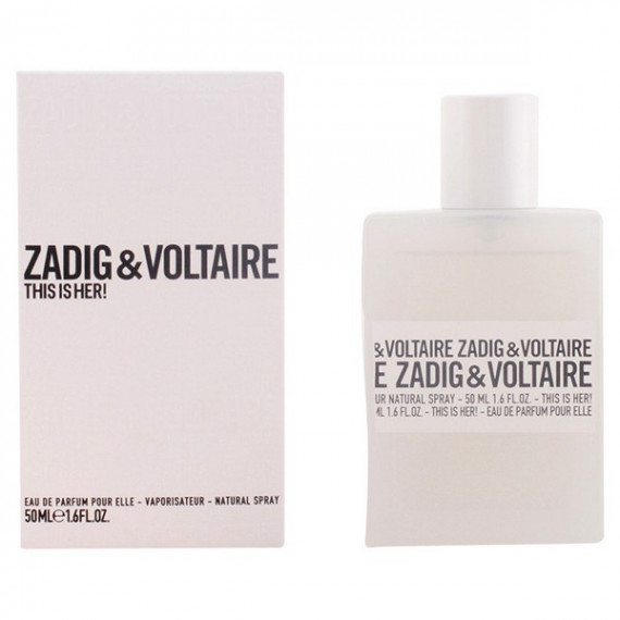 Perfume Mujer This Is Her! Zadig & Voltaire EDP