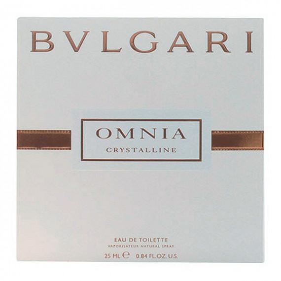 Perfume Mujer Omnia Crystalline Bvlgari EDT satin pouch