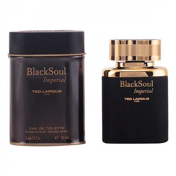 Perfume Hombre Black Soul Imperial Ted Lapidus EDT