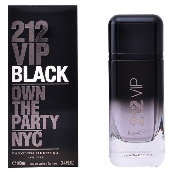 Perfume Hombre 212 Vip Black Carolina Herrera EDP
