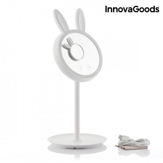 Espejo-Lámpara LED para Maquillarse 2 en 1 Mirrobbit InnovaGoods