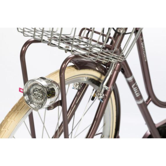 Cuca Bicicleta eléctrica Granate
