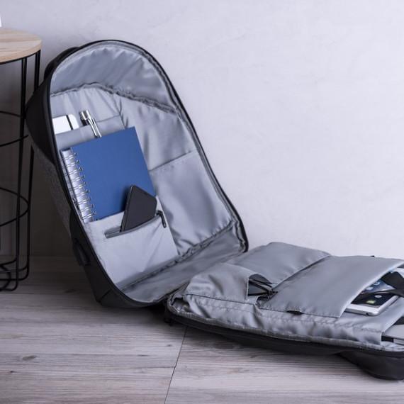 Mochila Antirrobo con USB y Compartimento para Tablet y Portátil 145947