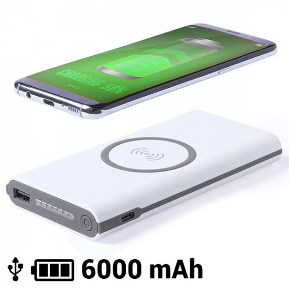 Power Bank Inalámbrico 6000 mAh LED Micro USB 145783