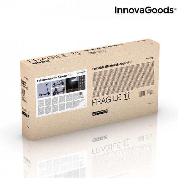 Patinete Eléctrico Plegable Pro InnovaGoods 7800 mAh 8,5'' 350W Negro