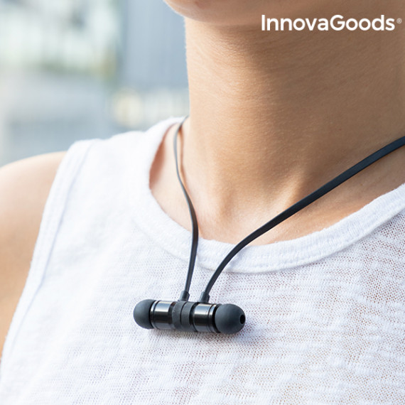 Auriculares Inalámbricos Magnéticos InnovaGoods