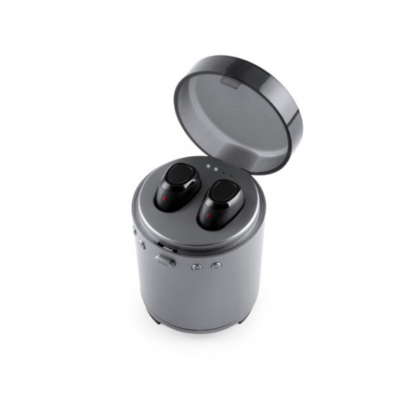 Auriculares Bluetooth con Micrófono FM USB 3W Plateado 146192