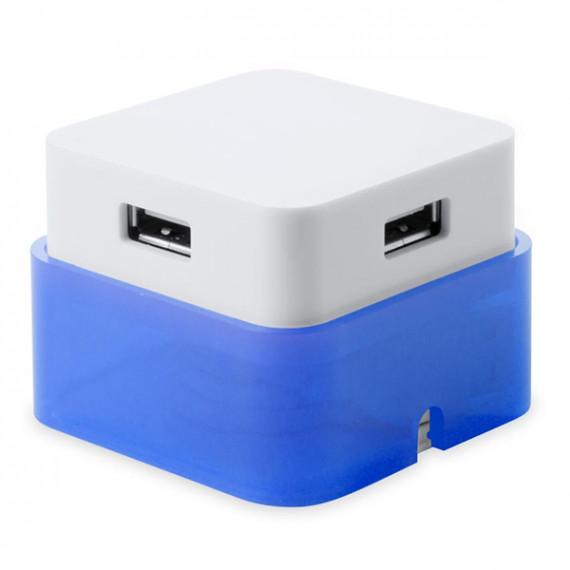 Hub USB 4 Puertos 144635 Bicolor 144635