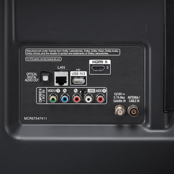 "Smart TV LG 43UM7000 43"" 4K Ultra HD LED WiFi Negro"