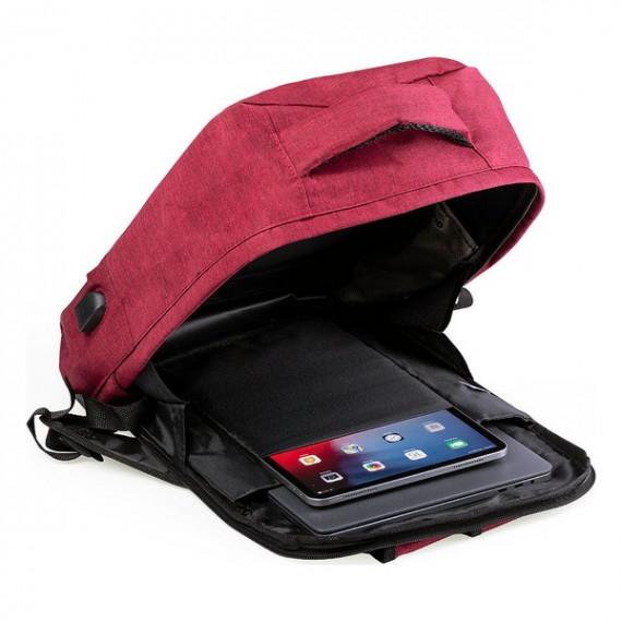 Mochila Antirrobo con USB y Compartimento para Tablet y Portátil 146345