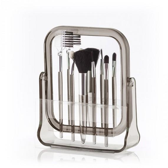 Espejo con Pinceles de Maquillaje Primizima (6 piezas)