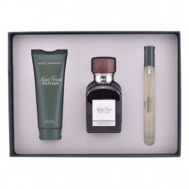 Set de Perfume Hombre Vetiver Adolfo Dominguez (3 pcs)