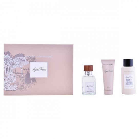 Set de Perfume Hombre Agua Fresca Adolfo Dominguez (3 pcs)