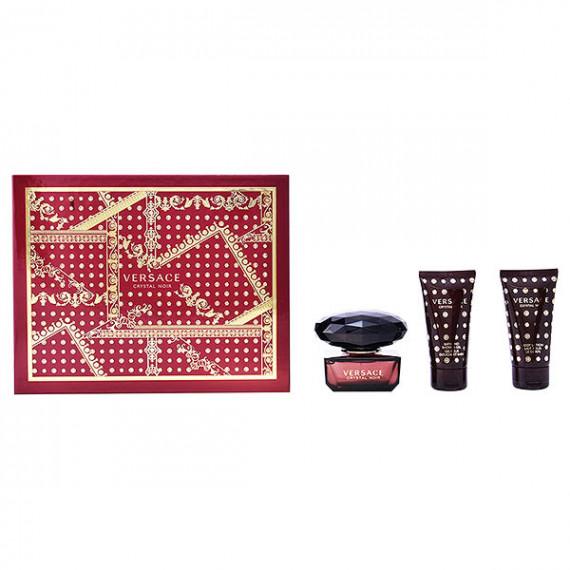 Set de Perfume Mujer Crystal Noir Versace (3 pcs)