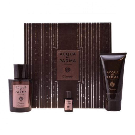 Set de Perfume Hombre Colonia Quercia Acqua Di Parma (3 pcs)