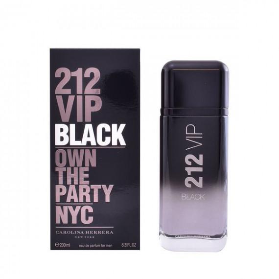 Perfume Hombre 212 Vip Black Carolina Herrera EDP (200 ml)