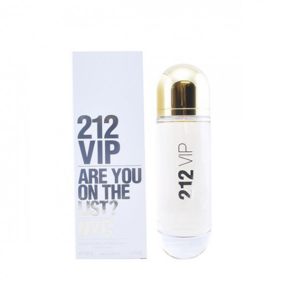 Perfume Mujer 212 Vip Carolina Herrera EDP (125 ml)