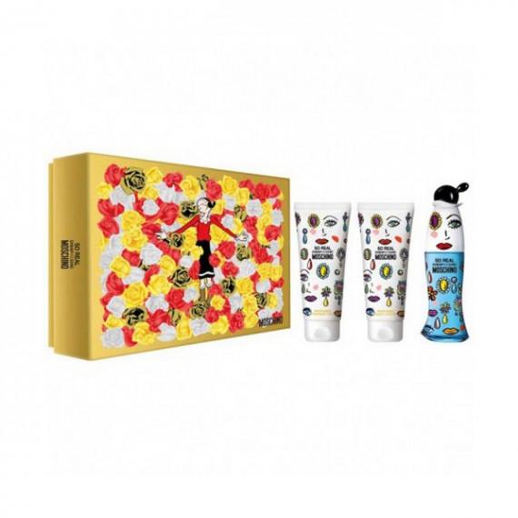 Set de Perfume Mujer So Real Cheap & Chic Moschino (3 pcs)