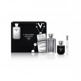 Set de Perfume Hombre L'homme Prada (3 pcs)
