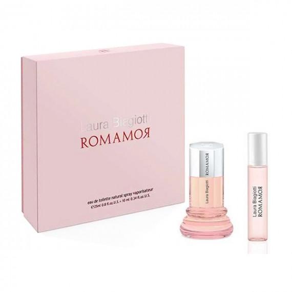 Set de Perfume Mujer Romamor Laura Biagiotti (2 pcs)