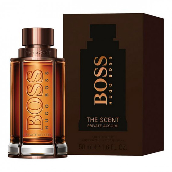 Perfume Hombre The Scent Private Accord Hugo Boss EDT (50 ml)