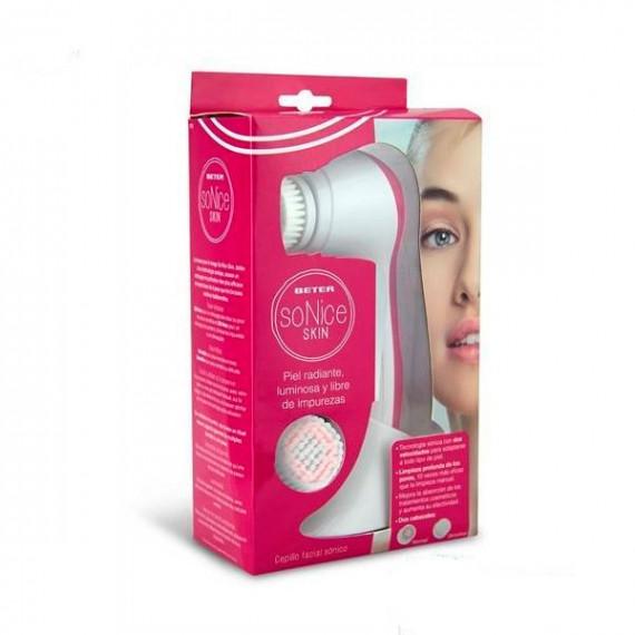 Cepillo Limpiador Facial Sónico Set Beter