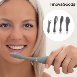 Cepillo de Dientes Sónico de Silicona con Accesorios Klinfor InnovaGoods