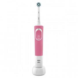 Cepillo de Dientes Eléctrico Oral-B Vitality D100 Cross Action Blanco Rosa