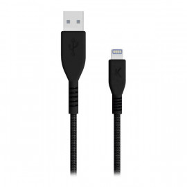 Cable USB a Lightning Armor Negro