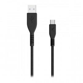 Cable USB A a USB C Negro