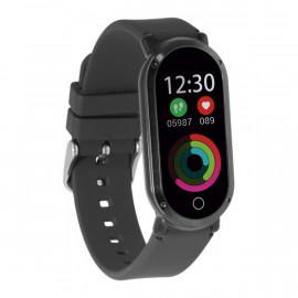 "Pulsera de Actividad Fitness Band HR3 0,96"" TFT Bluetooth Negro"