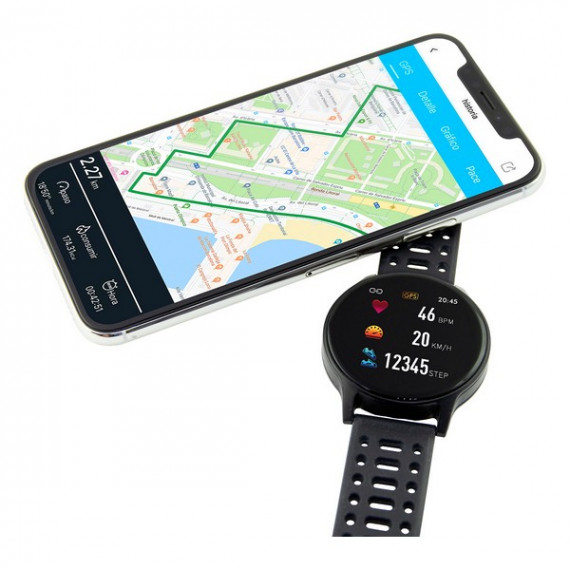 "Smartwatch 1,3"" TFT GPS 230 mAh Negro"