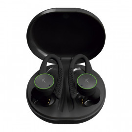 Auriculares Deportivos con Micrófono Sports Buds 400 mAh Negro