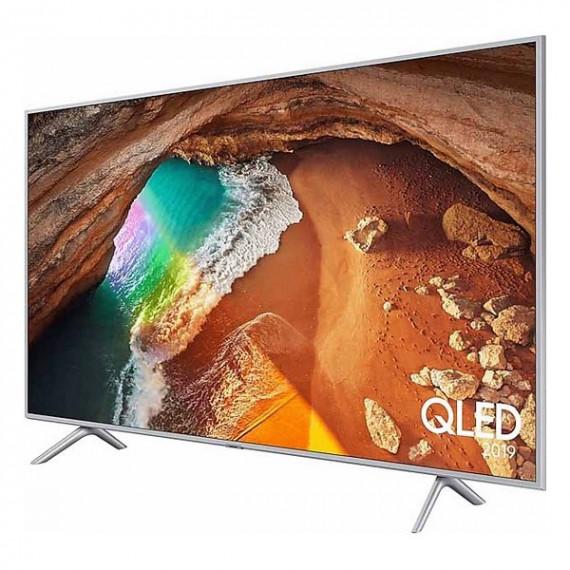 """Smart TV Samsung QE55Q65R 55"""" 4K Ultra HD QLED WiFi Plateado"""