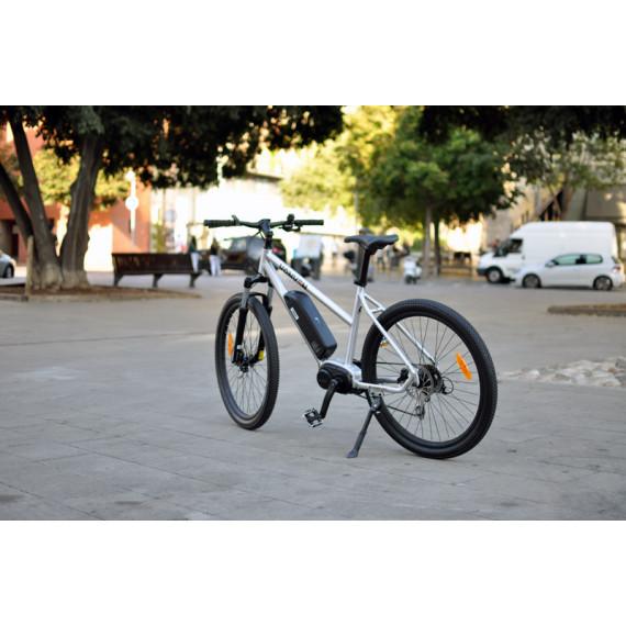 Bicicleta Eléctrica con Motor Central MTB Vonven Gris LCD